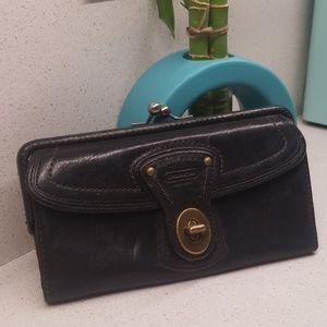 Vintage leather COACH wallet